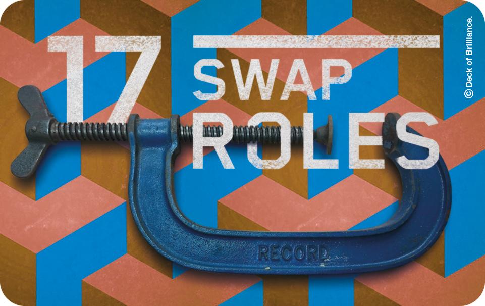 17. Swap Roles