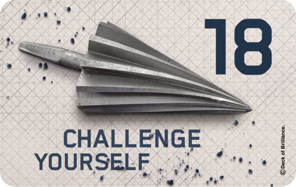 18. Challenge Yourself